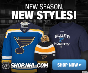 Shop for St Louis Blues fan gear at Shop.NHL.com