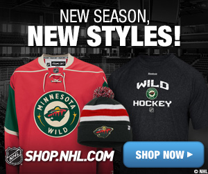 Shop for official Minnesota Wild team fan gear at Shop.NHL.com