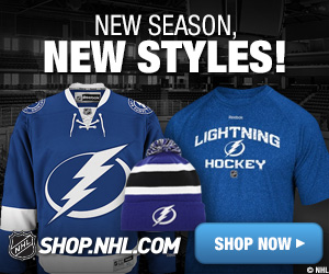 Shop for official Tampa Bay Lightning fan gear at Shop.NHL.com