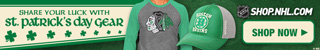Shop for official team logo St. Patrick's Day Gear from NHL Shop