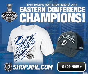 Shop for Tampa Bay Lightning 2015 Eastern Conference Champs Apparel and Collectibles at Shop.NHL.com
