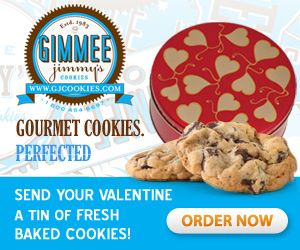 Gimmee Jimmy's Fresh Baked Cookies-Perfected! Order Now!