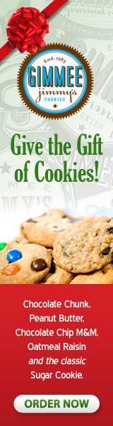 Gimmee Jimmy's Fresh Baked Cookies Makes the Perfect Gift! -Send Now!