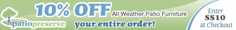 Patio Preserve - All Weather Patio Furniture & Garden Decor