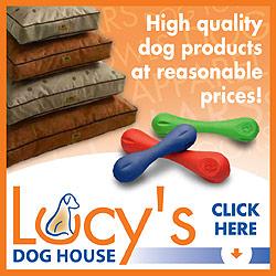 Shop LucysDogHouse.net Today!