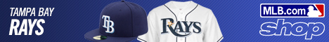 Shop for Tampa Bay Rays Gear at Shop.MLB.com!