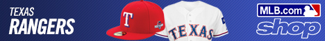 Shop for Texas Rangers Gear at Shop.MLB.com!