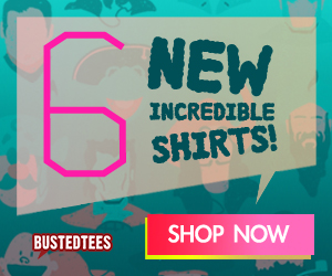 BustedTees Deal of the Day - Save Up To 50%