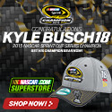 Shop for Kyle Busch 2015 Sprint Cup Champ Fan Gear and Collectibles