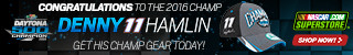 Shop for Denny Hamlin 2016 Daytona 500 Champion Fab Gear