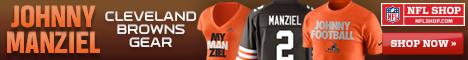 Johnny Manziel Cleveland Browns Gear