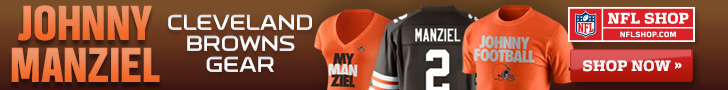 Johnny Manziel Cleveland Browns Gear