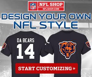 Customize your own NFL Fan Gear at NFLShop.com