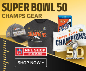 Shop for Denver Broncos Super Bowl 50 Champs Gear and Collectibles at NFLShop.com