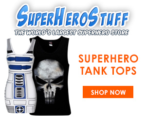 SuperHeroStuff - New Tank Tops!