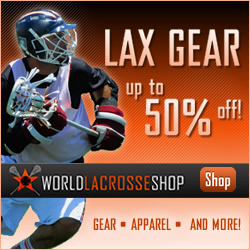 Shop WorldLacrosseShop.com Today!