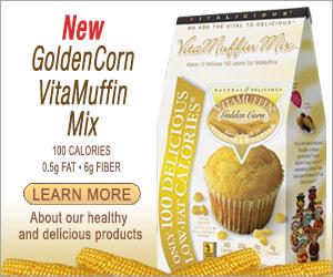 Vitalicious - New GoldenCorn VitaMuffin Mix