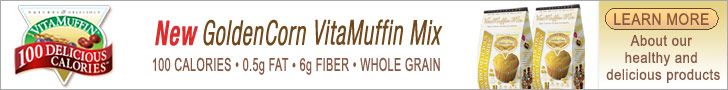 Vitalicious - New GoldenCorn VitaMuffin Mix