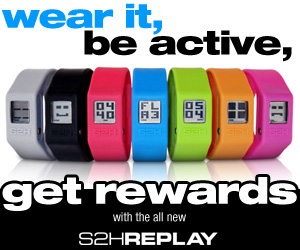 wear it, be active, get rewards at S2H.COM