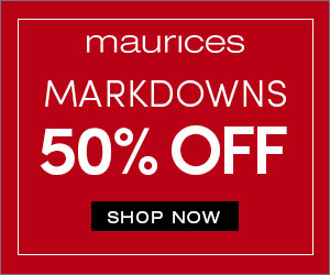 50% off Markdowns @ maurices.com!