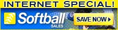Softball.com Internet Specials!