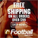 Free Shipping on Orders over $99 FootballAmerica.com