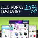Electronics Template Banners at TemplateMagician.com