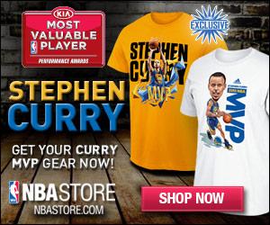 Stephen Curry 2015 NBA MVP Gear
