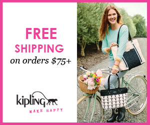 Free Shipping at Kipling USA