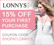 20% Off Your First Purchase from Lonnys.com