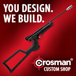 You Design. We Build. Crosman Custom Airguns.