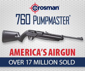 Crosman 760 Pumpmaster - America's Airgun!