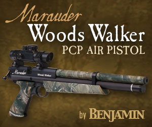 Benjamin Marauder Woods Walker Hunting Air Pistol