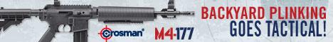Backyard Plinking Goes Tactical with the Crosman M4177 Pump Rifle