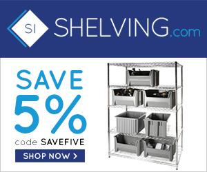 Shelving.com Coupon Image 1