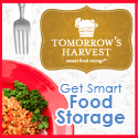 Shop Food Storage at TomorrowsHarvest.com Today!
