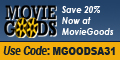 20% Off at MovieGoods