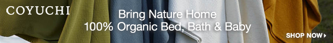 Checkout Coyuchi.com Specials on Organic Bedding Today!