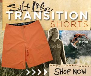 Salt Life Transition Shorts