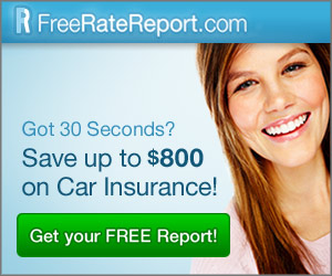 Save Up To $800. On Auto Insurance With FreeRateReport.com