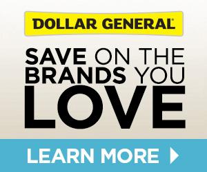 Dollar General banner