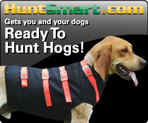 Outfit your Hog hunting Dog from HuntSmart.com
