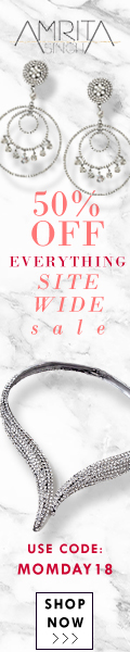 50% Off Site-wide Mother's Day Sale