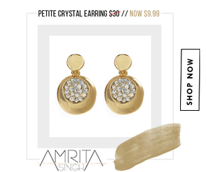 Steal of the Week: $9.99 Petite Crystal Earring