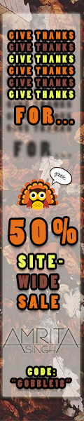 50% Off Site-Wide Thanksgiving Sale!