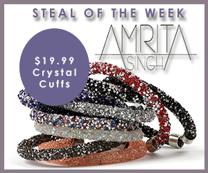 $19.99 Crystal Cuffs