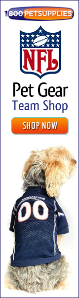 Shop NFL Pet Gear Team Shop!