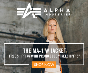 Alpha Industries banner