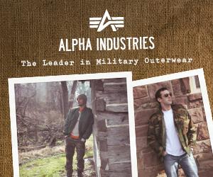 Alpha Industries banner
