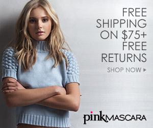 Free Shipping at PinkMascara.com